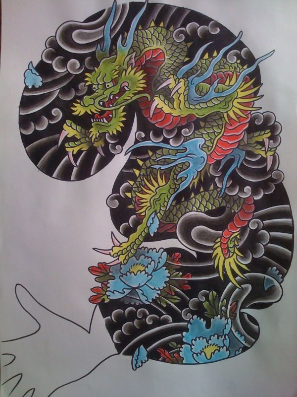 pin by rebecca wilson on dragons pinterest tattoos tattoo designs and irezumi. Black Bedroom Furniture Sets. Home Design Ideas