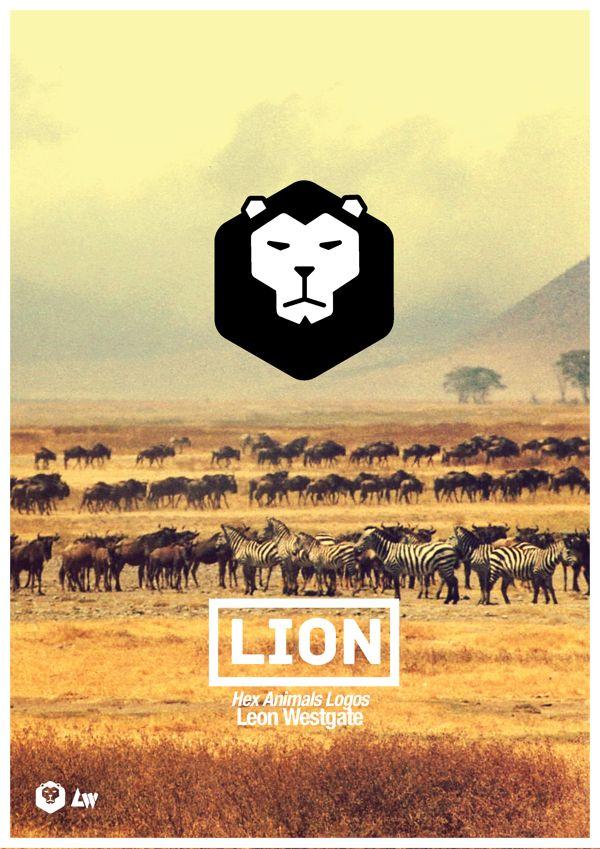 Homework #2 / Hex Animals Logos by Leon Westgate, via Behance