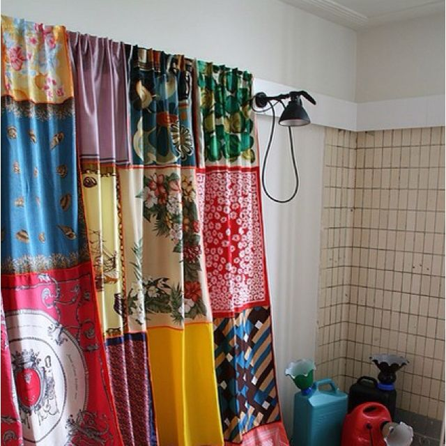25 Awesome Scarf Projects To Try This Summer Upcycle Trendy Home Decor Scarf Curtains Curtains