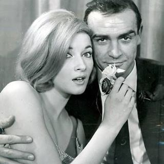 """39 Likes, 1 Comments - Ian Harbison (@ianmandingo) on Instagram: """"#mcm The original James Bond, Sean Connery. Oh and Daniela Bianchi, the classic Bond girl from my…"""""""