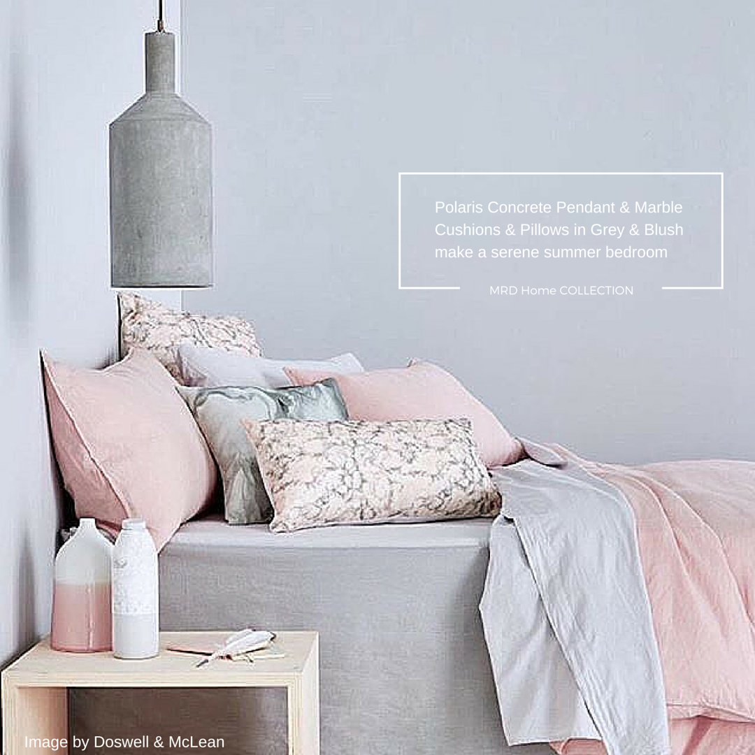 #RoseQuartz #Pantone #Pastel Bedroom Decor Inspiration From MDRHomes
