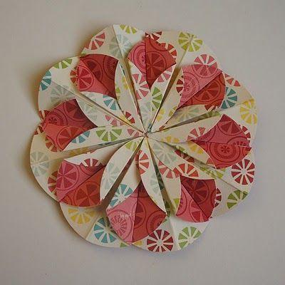 Origami Flower By Scrapgaleria