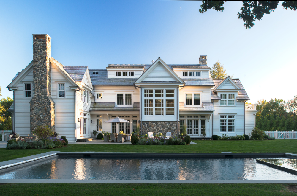 Fresh Sophistication New Traditional Harrison Homes Morgan Harrison Home In 2020 Hamptons House Beach House Design House Styles