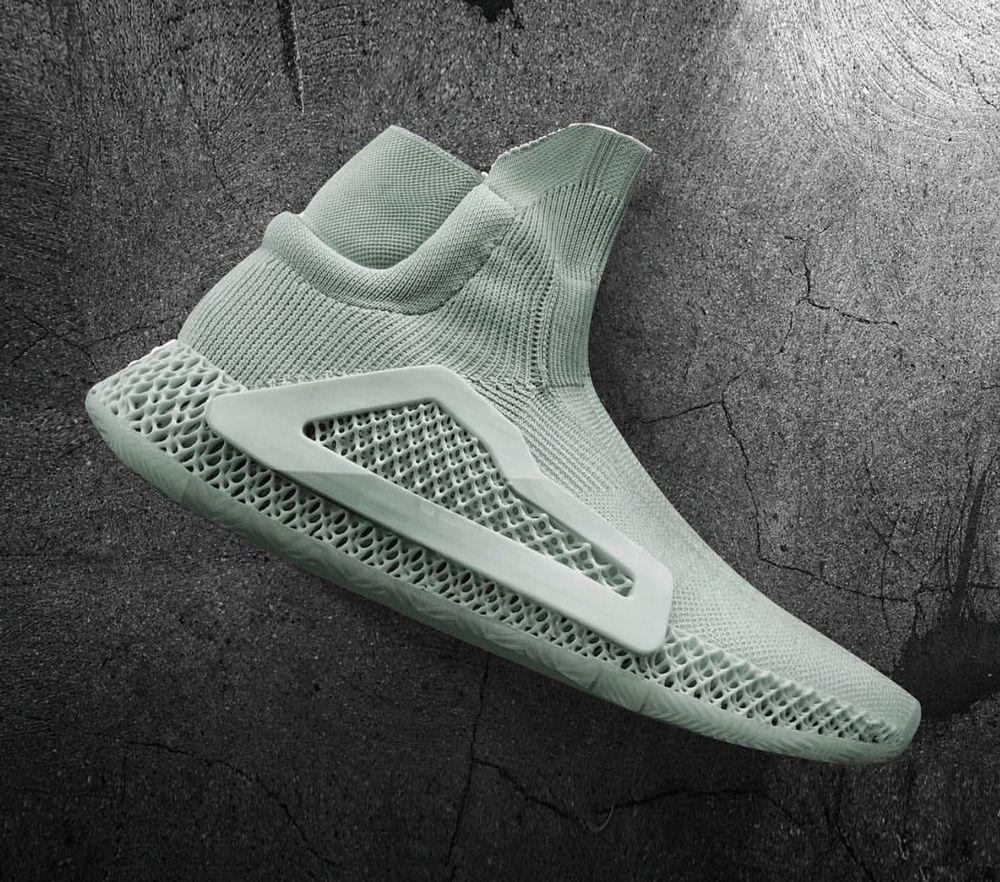 purchase cheap 179e3 fadde Adidas FUTURECRAFT 4D  3D Printing Adidas Parametric Rubber  Silicon Shoe  Soft Texture Turquoise