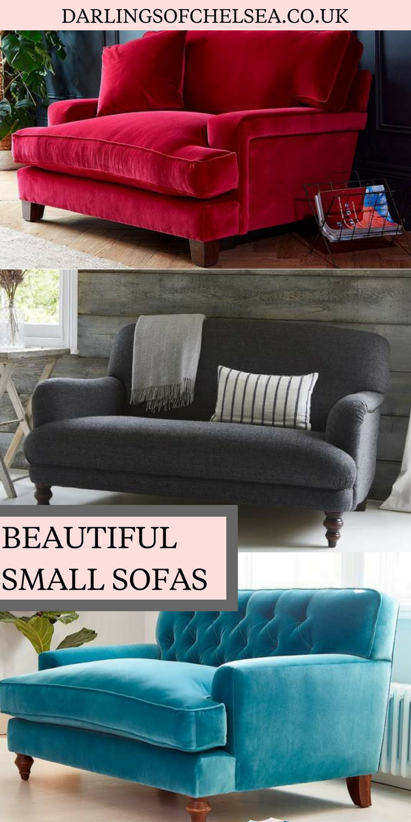 If space is tight and you\'re looking for a small sofa then look no ...