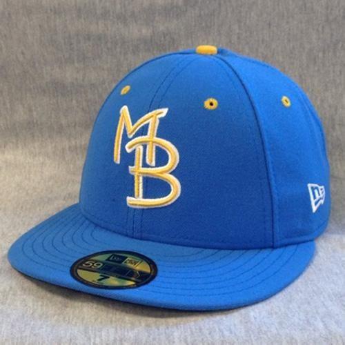 Myrtle Beach Pelicans New Era 59 Fifty On Field Cap