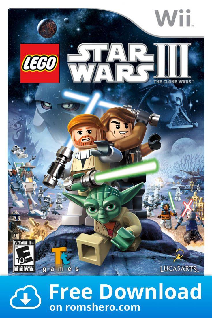 Download Lego Star Wars The Clone Wars Nintendo Wii Wii Isos Rom Lego Star Wars Lego Star Clone Wars