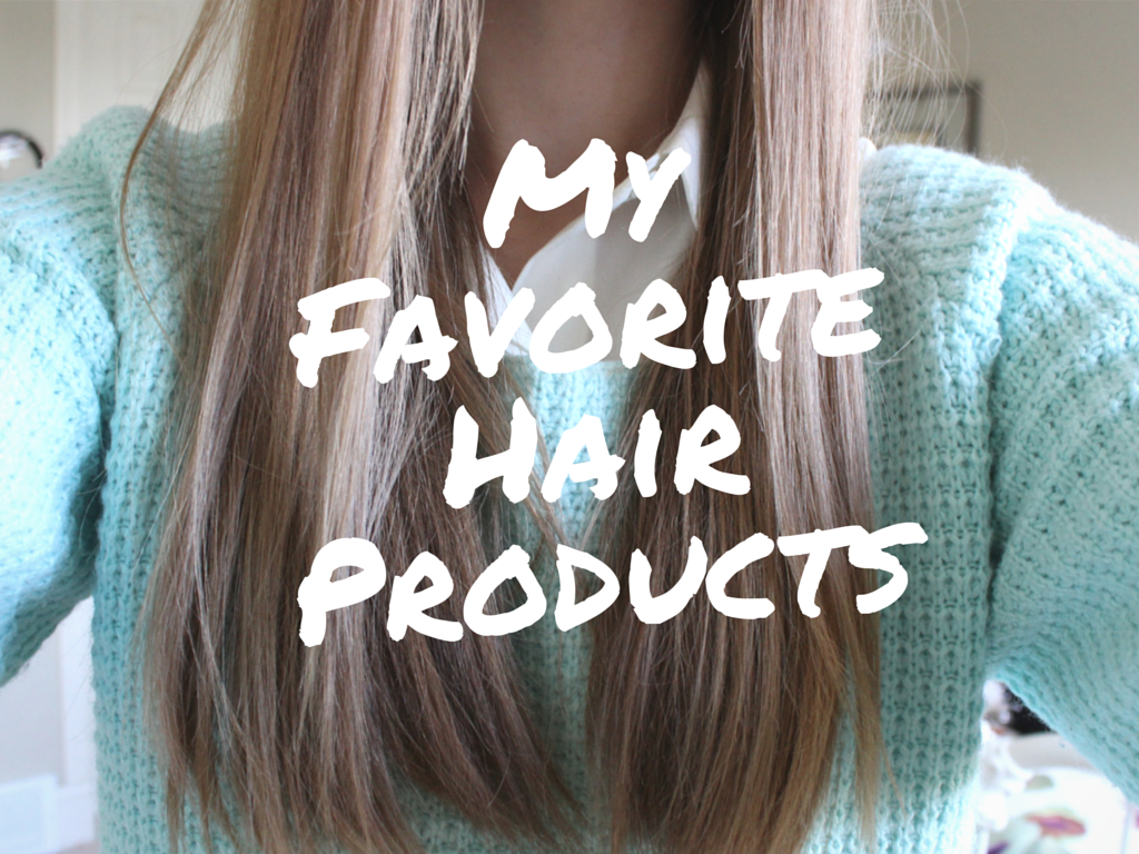 As my hair has been growing longer and longer, I have turned my attention to figuring out the best hair products. I have a slight obsession with hair products, however I usually focus my attention on the one that can be found on a drugstore. I've found that higher-end products and cheaper ones are usually the same. So, without further adieu, here are my favorite hair products!Since my hair is so long right now, I want to make sure it looks as thick and healthy as possible. I used to use the…