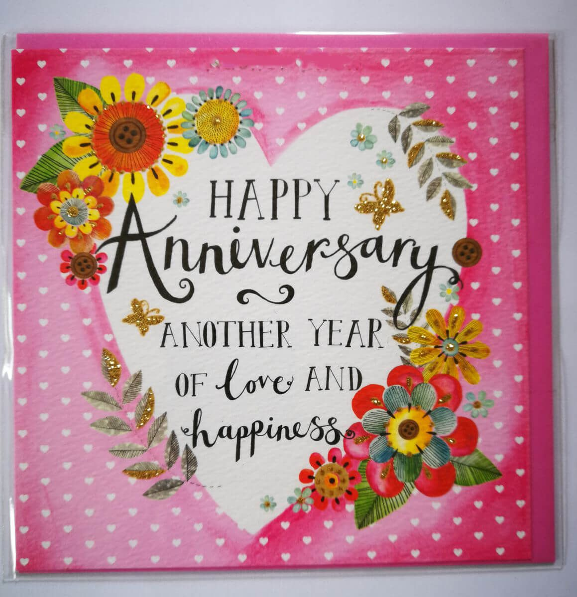 Happy Anniversary Card For Loved Ones Card Wishes For Anniversary Happy Anniversary Cards Anniversary Cards For Wife Anniversary Card For Parents