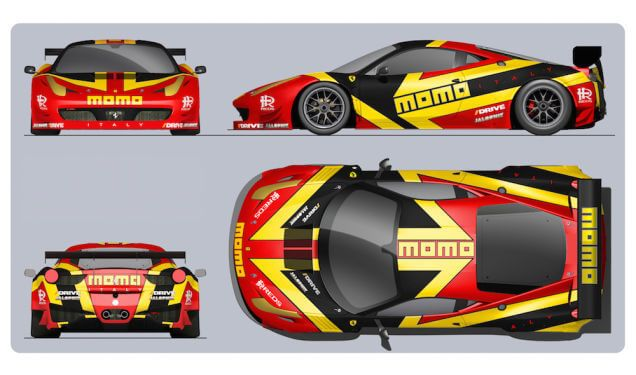 Momo Ferrari Racing Livery We Collect And Generate Ideas Ufx Dk