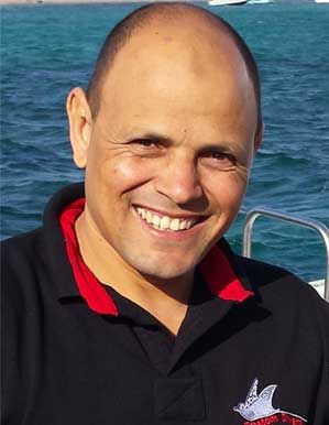 Ahmed - Instructor und Tauchguide der Freedom Divers