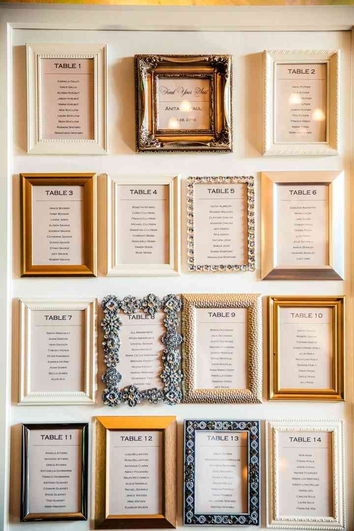 13 Unique Wedding Seating Chart Ideas