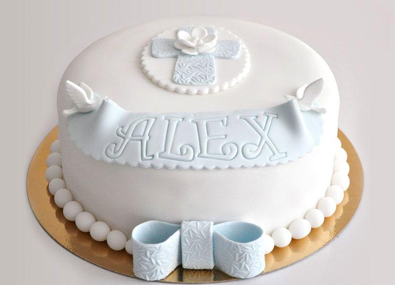 ideas para pastel primera comunion y bautizo juntos