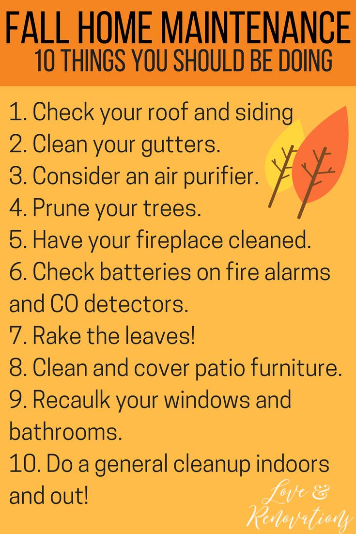 Photo of Checkliste für die schnelle und einfache Wartung Ihres Hauses – Liebe & Renovierung