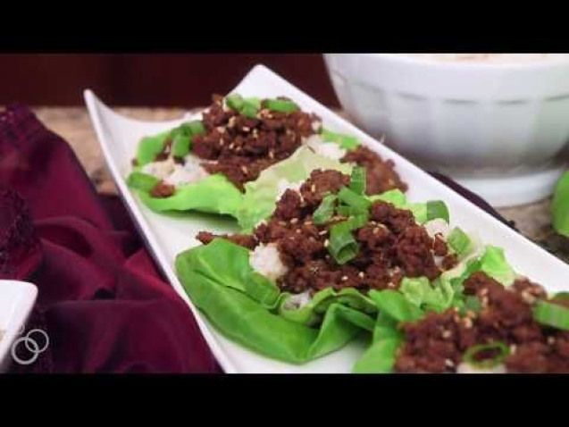Korean Beef Lettuce Wraps are ready in just 15 minutes! This easygluten-free dinner recipe is made from kitchen staples and is completely craveable.