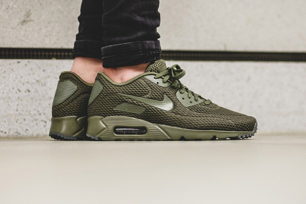 Nike Air Max 90 Premium Cargo Khaki Canyon Gold