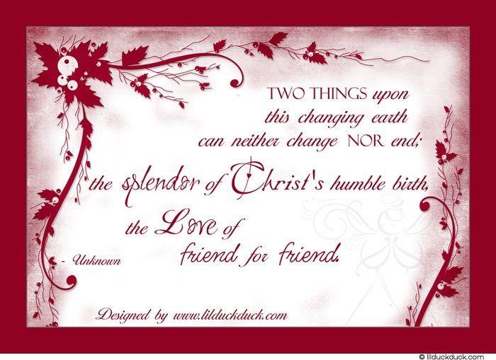 christmas inspirational quote for season holiday themed