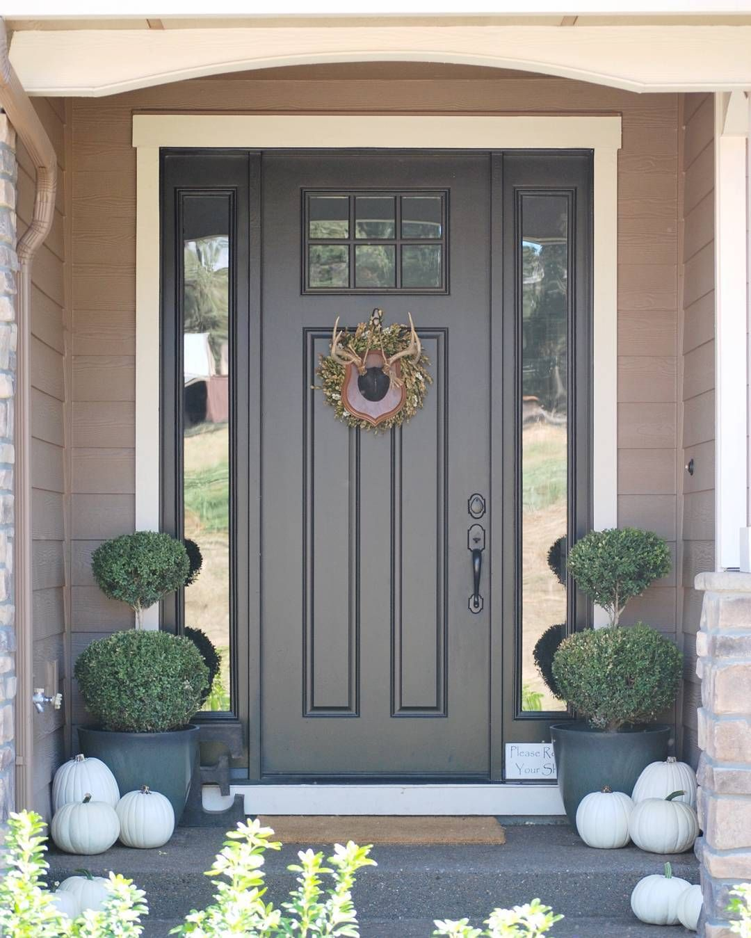 sherwin williams tricorn black house in 2019 painted front doors house paint exterior door. Black Bedroom Furniture Sets. Home Design Ideas