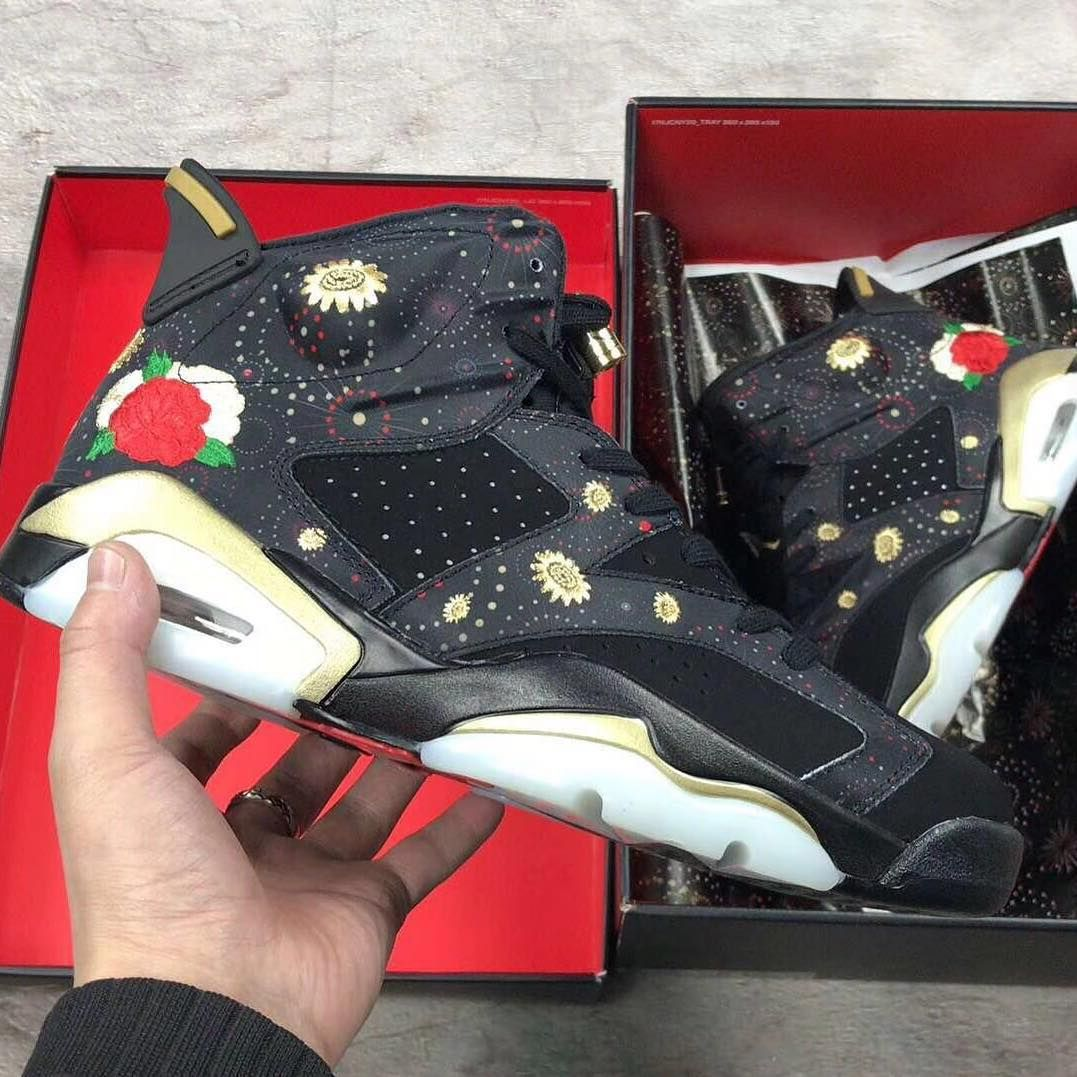 11300aa565c NIKE AIR JORDAN 6 RETRO CNY CHINESE NEW YEAR EDITION AA2492 021   louisvuitton  airjordan4  airjordan  angelusdirect  angeluspaint   angelusbrand  rareair ...