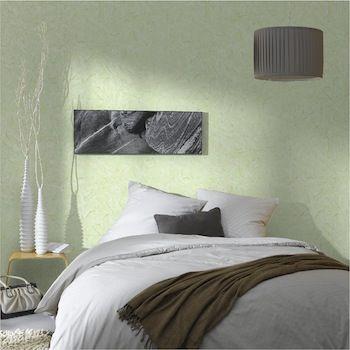 Association couleur avec le vert dans salon, chambre, cuisine