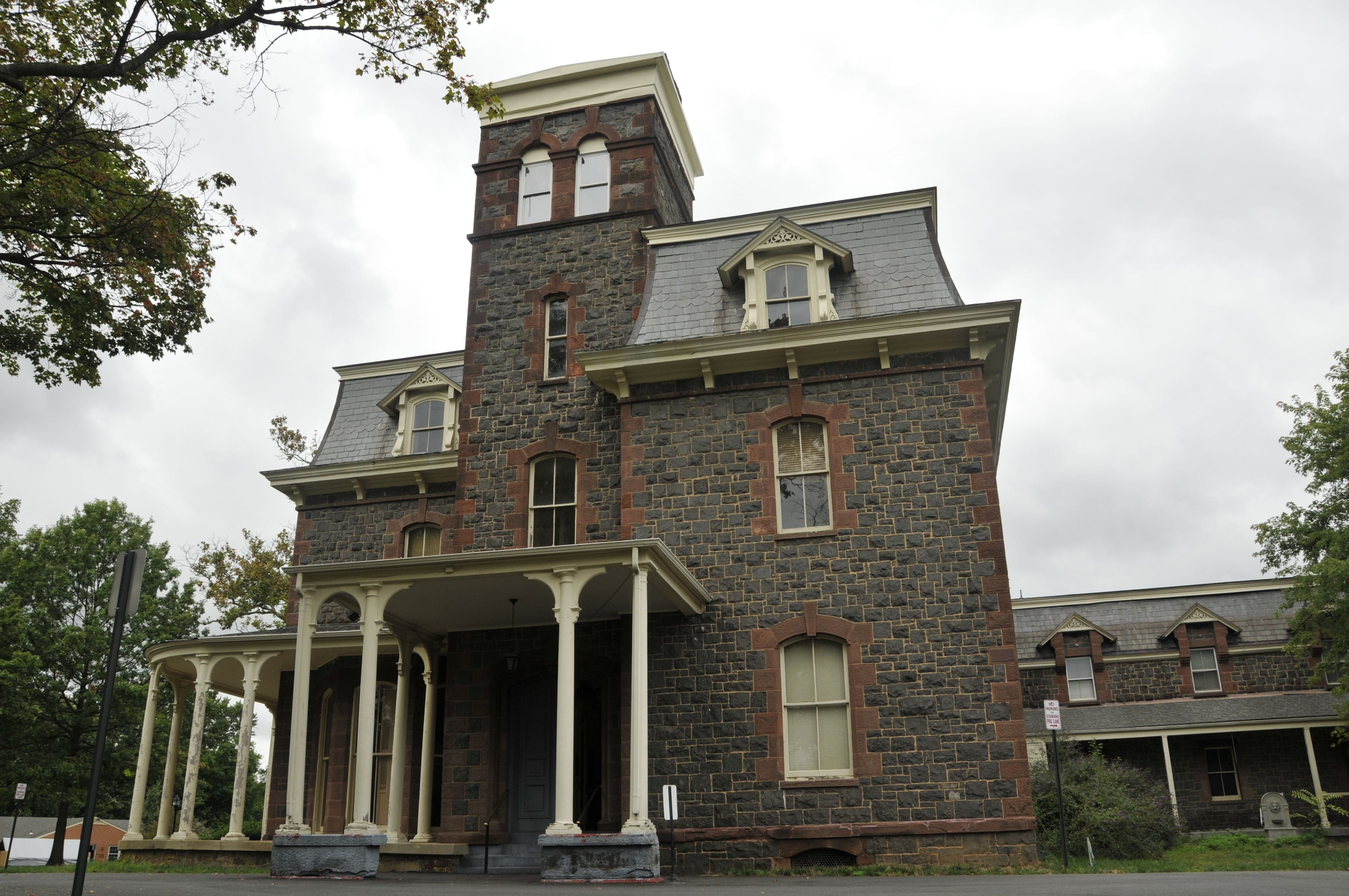 Front View Facade House Real Haunted Houses Haunted House