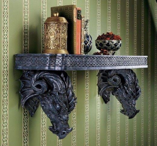 Dragons Style Fantasy Bedroom