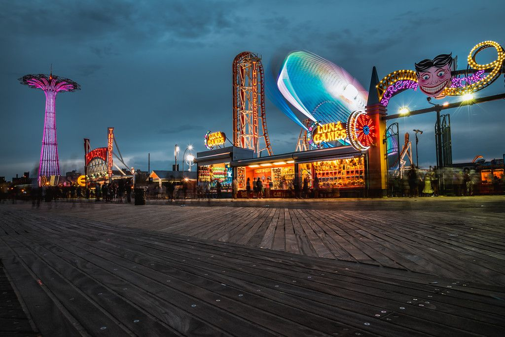 Pin by Bridget Hart on coney island in 2019 New york
