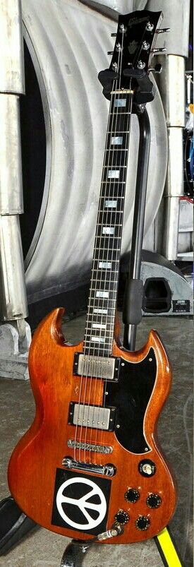 The Gibson SG of Adrian Smith