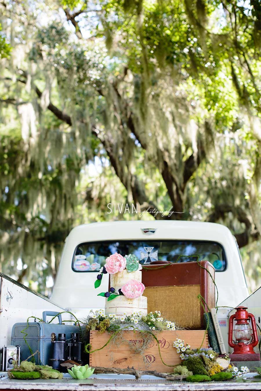 Glamping | Sivan Photography | Mission Inn Orlando | Wedding Photos | Rustic Wedding