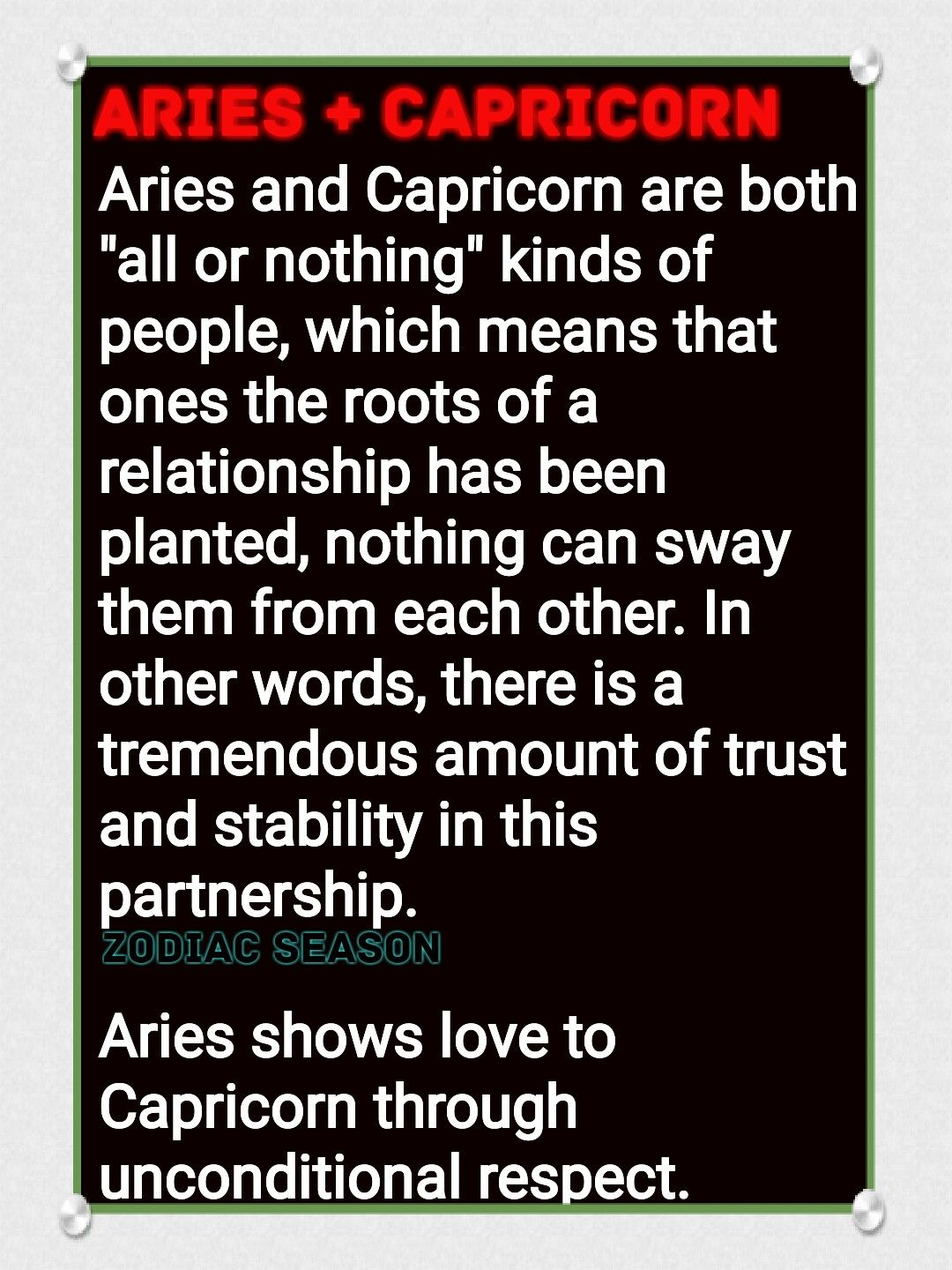 star signs aries and aries compatible