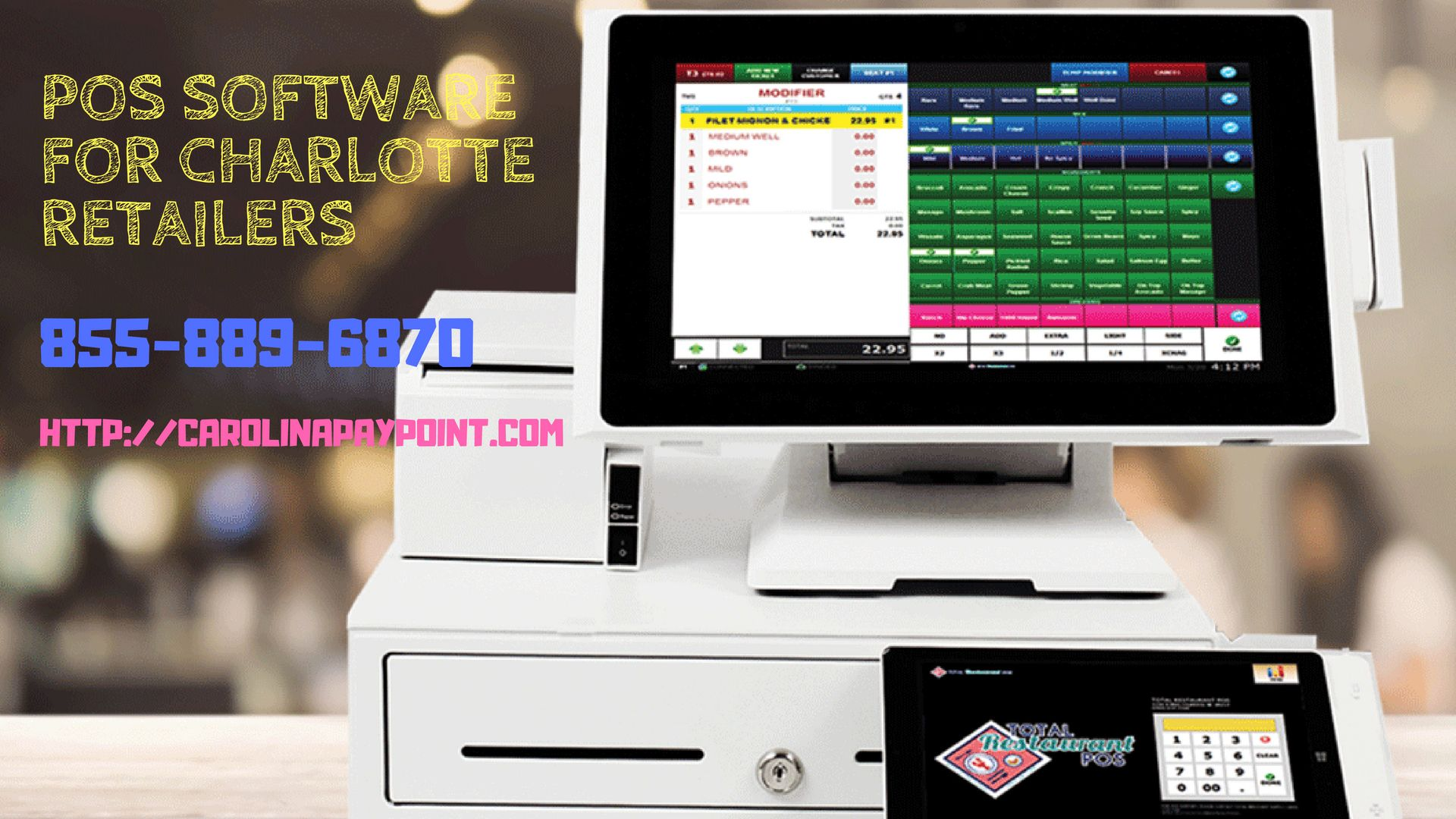 Pin on POS Software for Charlotte Retailers