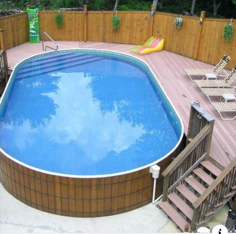 Pin By Astrid On Piscine Pool Deck Plans Swimming Pool Kits Portable Pools