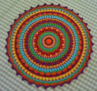 Atelier Marie-Lucienne: Pattern/Anleitungen #crochetmandalapattern
