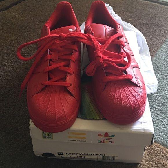 chaussures de séparation 878e0 789df Adidas Superstar Supercolor by Pharrell Williams US 5.5, fit ...