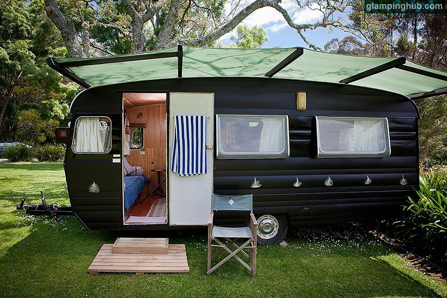 Caravan House New Zealand Luxury Caravans Kerikeri New Zealand Glamping New Zealand Caravan Makeover Caravan Small Caravans