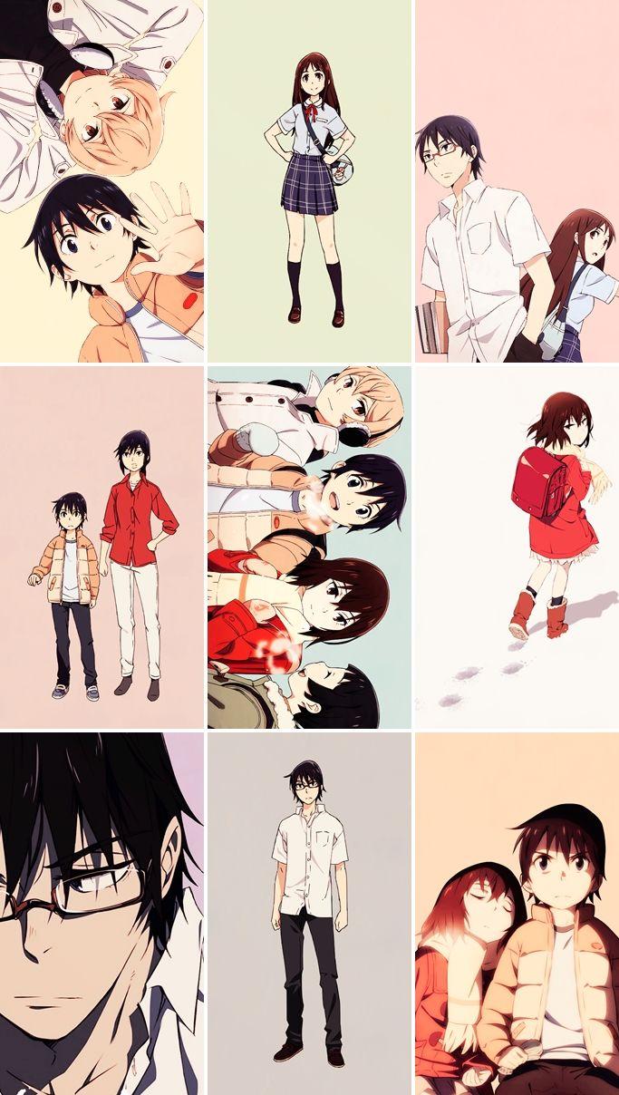 Boku Dake Ga Inai Machi Erased Kayo Hinazuki Satoru Fujinuma Kenya Hiromi Sachiko Airi Anime Shows Anime Nerd Manga Anime