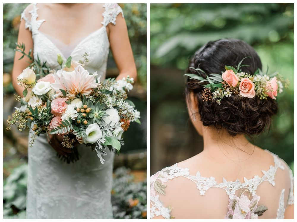 Peach and Mint Choderwood Wedding • Dawn Derbyshire