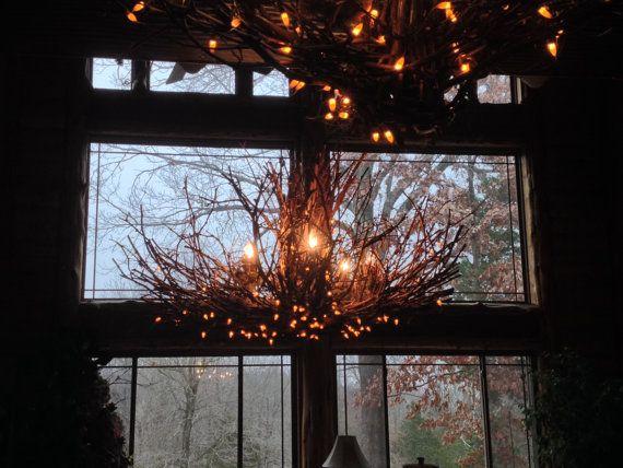 The Allegheny  Rustic Chandelier 5 Light @Danna_Palmer #etsyspecialT #etsymntt #bizitalk