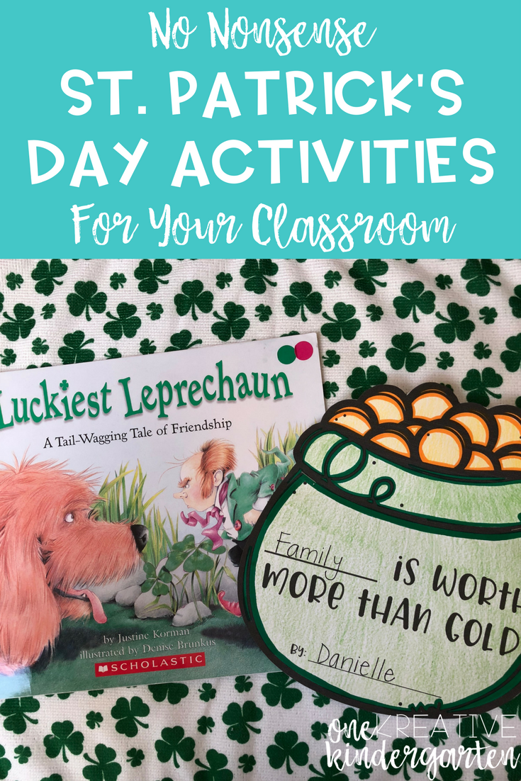 No Nonsense St. Patrick\'s Day Activities for Your Classroom ...