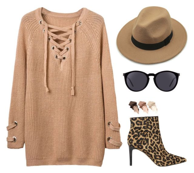 """""""Untitled #2286"""" by lauraafreedom ❤ liked on Polyvore featuring Sam Edelman, Yves Saint Laurent and Urban Decay"""