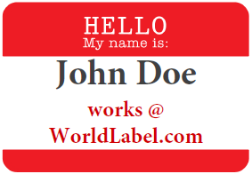 Free Name Tag Template  MathINess And AllAround Cool For