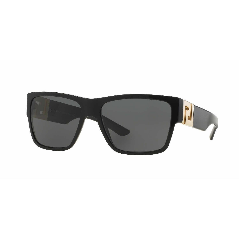 82e619ecdab Versace Mens VE4296 GB1 87 Black Plastic Square Sunglasses