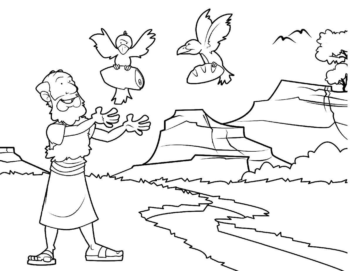 imagenes elias biblia para niños - Buscar con Google | Dibujos ...