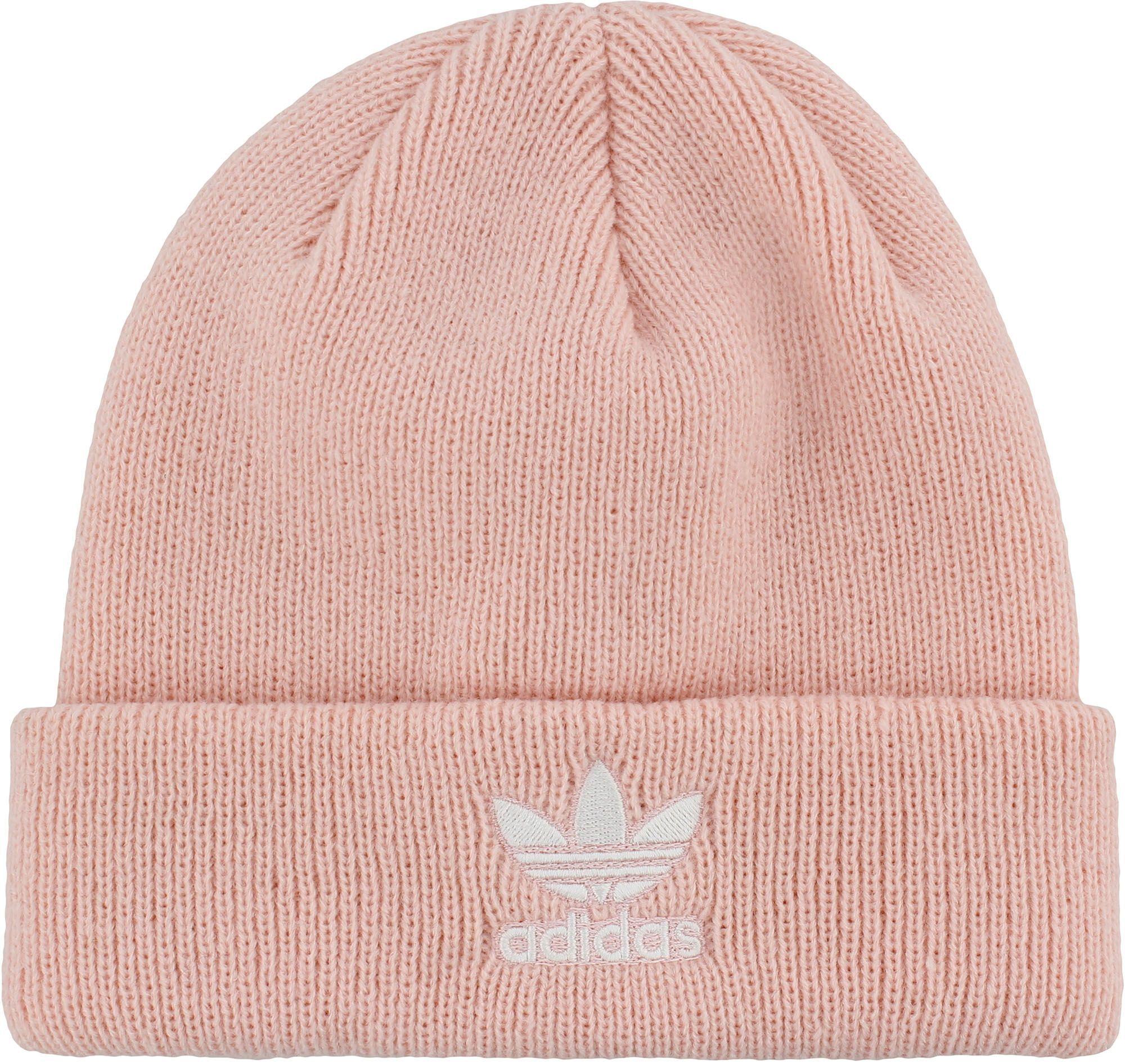 the best attitude 90429 fd364 adidas Originals Men s Trefoil Beanie, Icey Pink White