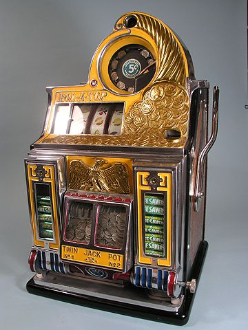 Coin collectibles, casino, slots, machines, antique machine slot bond connery casino