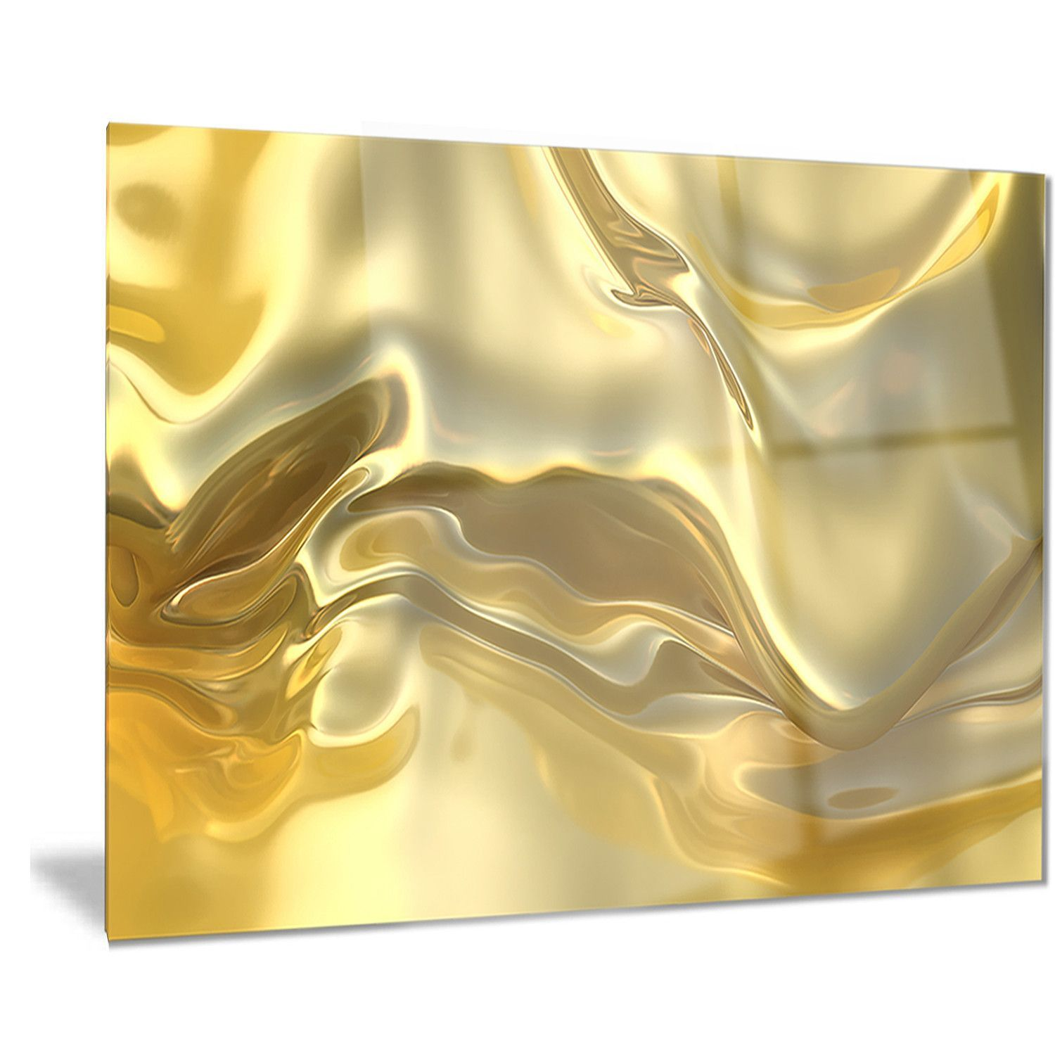 Bring Contemporary Abstraction to your home with this large metal ...