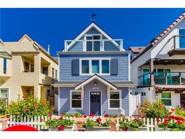 Custom Built Luxury Home For In Pacific Beach San Go Ca