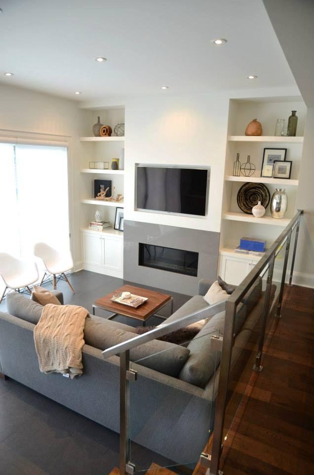 Modern Walnut Living Room Furniture: Grey, White And Walnut