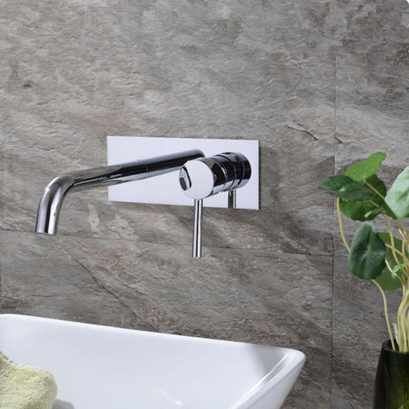 Badarmatur Mischbatterie Wasserhahn Wandarmatur Waschtisch