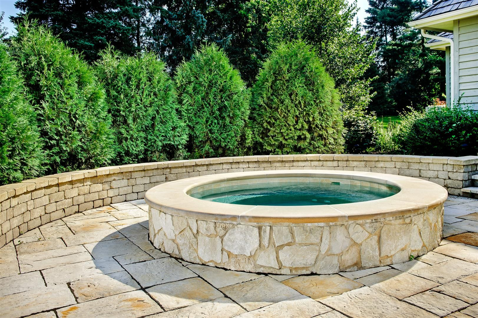 Hot Tub Landscaping For The Beginner On A Budget Hot Tub Landscaping Hot Tub Backyard Inground Hot Tub